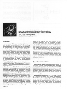New Concepts in Display Technology