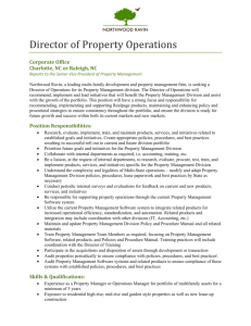 Director of Property Operations