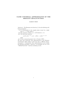 CLOSE UNIVERSAL APPROXIMANTS OF THE RIEMANN ZETA