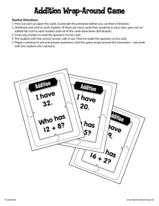 Addition - Lakeshore Learning Materials