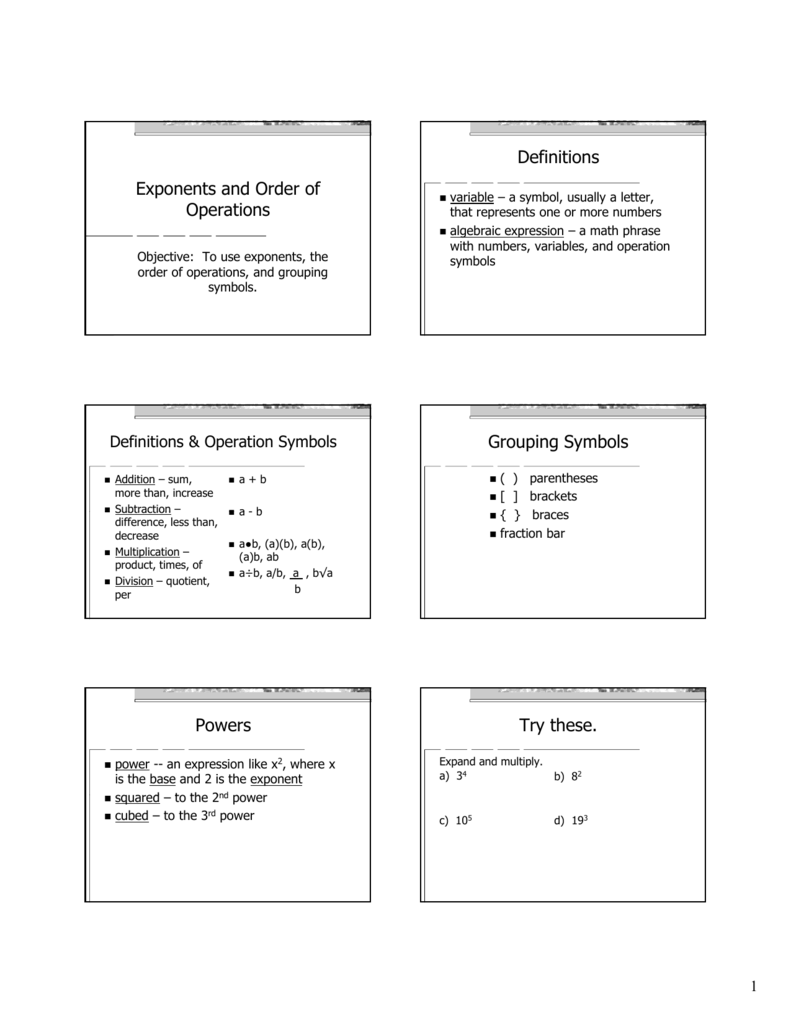 Workbooks order of operations with grouping symbols worksheets grouping symbols in math definition online flow chart tool 2012 biocorpaavc Choice Image