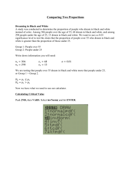 Calculating mean and standard deviation ti 89 calculating mean and standard deviation ti 89 comparing two proportions ccuart Choice Image