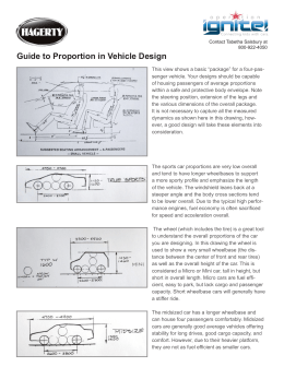 Guide to Proportion in Vehicle Design