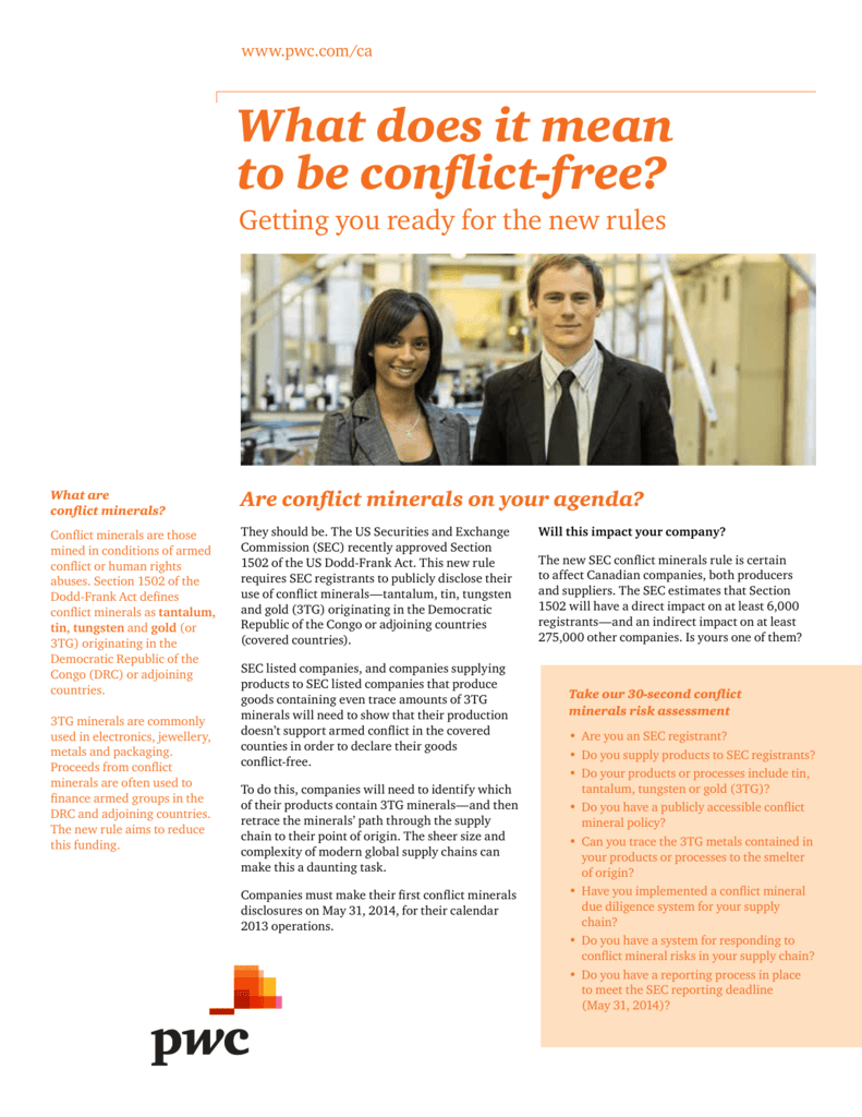 What does it mean to be conflict-free?