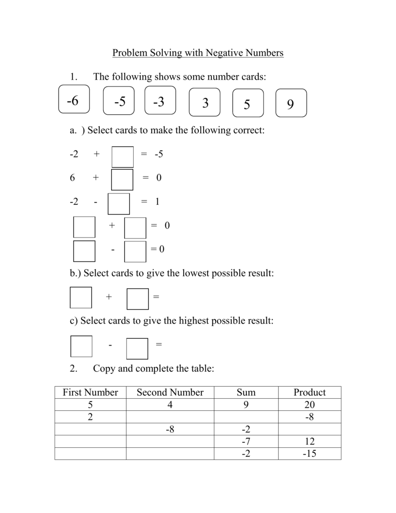 problem solving 8/12/15