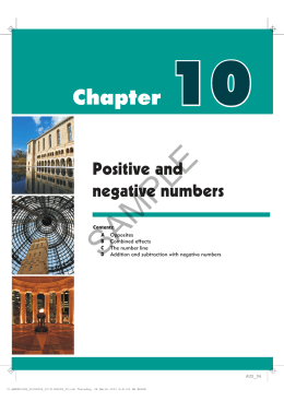 Chapter 10 - Haese Mathematics