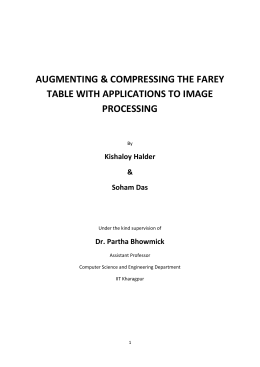 augmenting & compressing the farey table with applications to