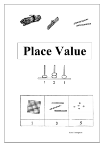 Place Value - Springfield Primary School
