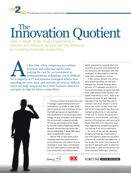 Innovation Quotient