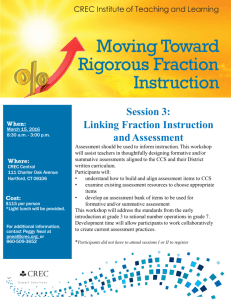 Moving Toward Rigorous Fraction Instruction
