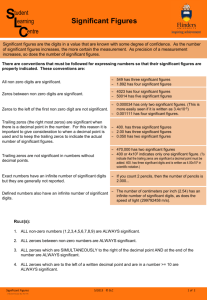Significant Figures (PDF 171KB)
