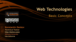 1.1. Web-Technologies-Basic