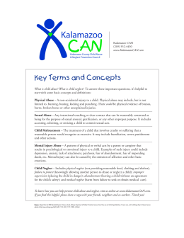 Understanding Key Terms and Concepts - Kalamazoo CAN