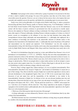 "Rhetorical Analysis of Thoreau's ""Civil Disobedience"" Essay"