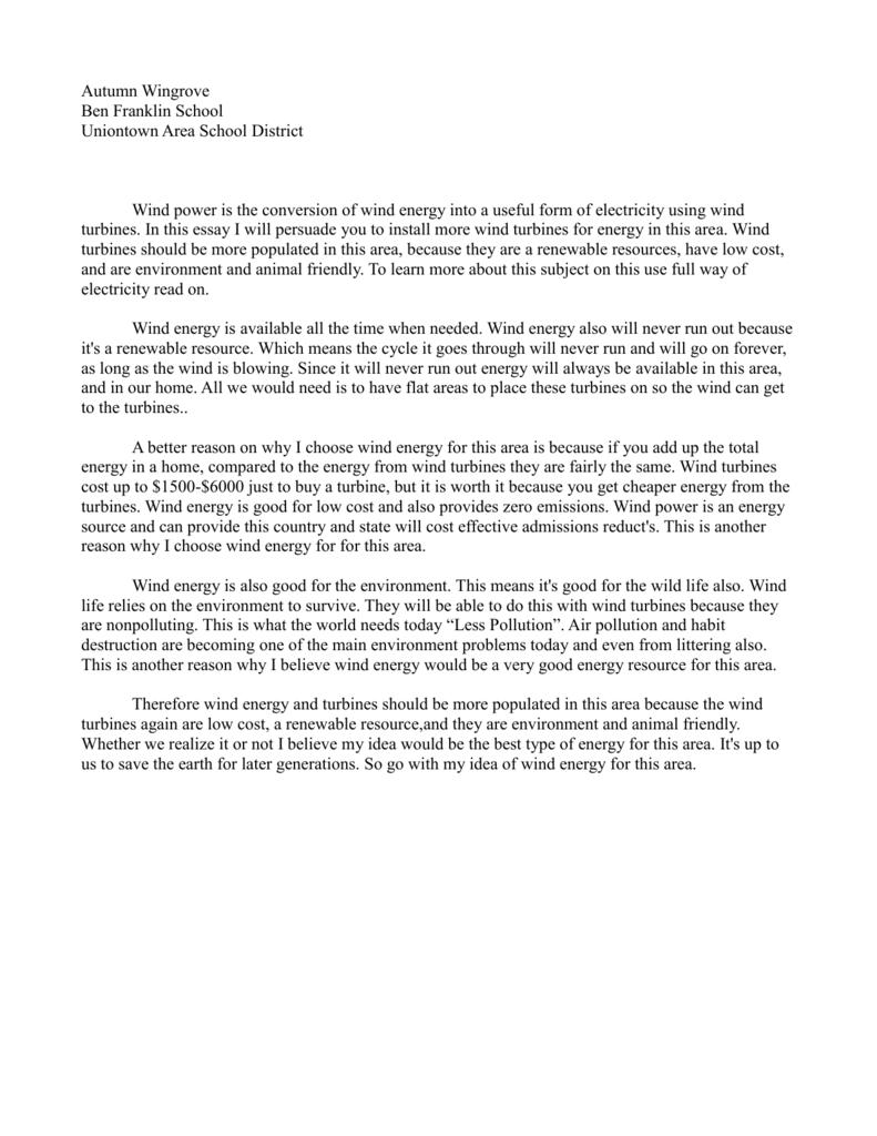 Essay Writing Format For High School Students  Health Awareness Essay also Descriptive Essay Thesis Autumn Wingroves Essaydoc Sample English Essay