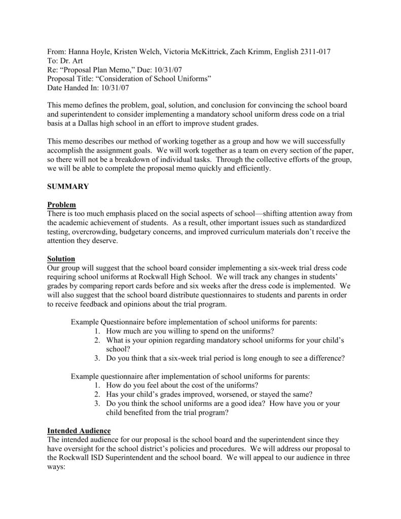 idea proposed plan 1