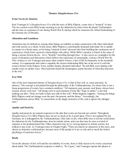 data sheet slaughterhouse five themes slaughterhouse five from novels for students kurt