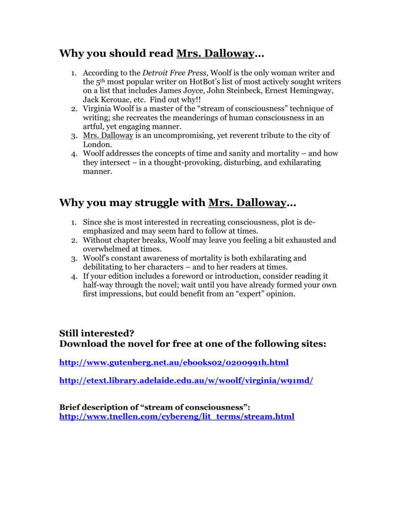 Mrs dalloway essay questions esl home work ghostwriting for hire