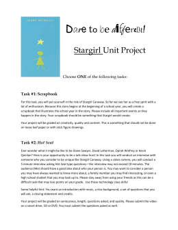 Stargirl-Projects.doc