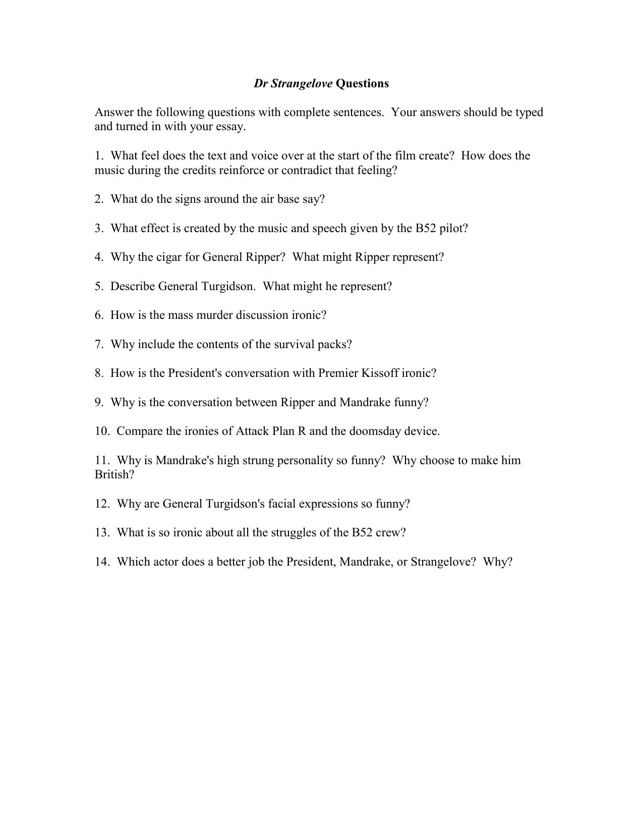 Essays about argon