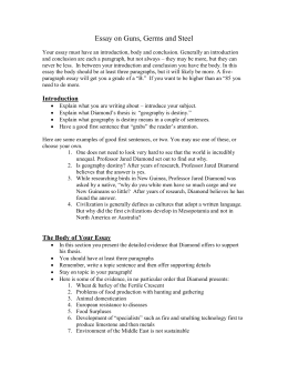 dtp dawson college essay on guns germs and steel