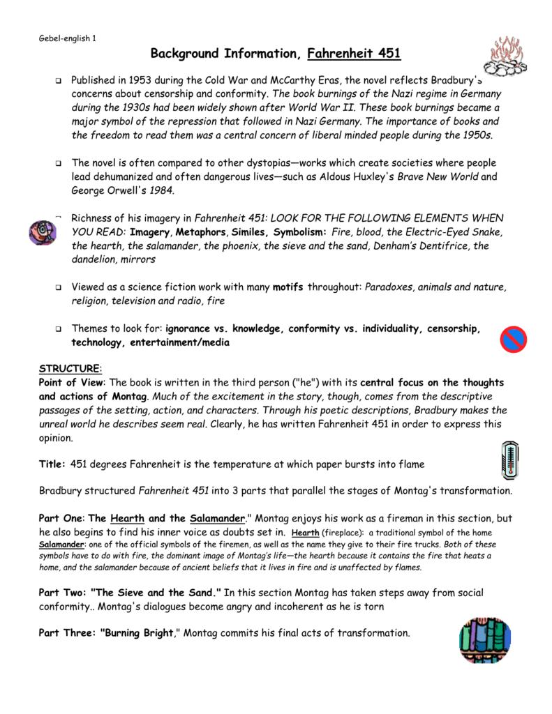 Background Information Handout
