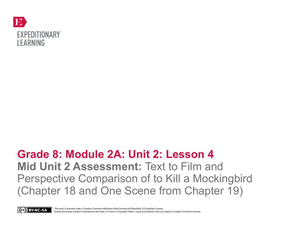 conflicting perspectives to kill a mockingbird To kill a mockingbird by harper lee   multiple or conflicting motivations) develop over the course of a text, interact with other characters, and advance the plot or develop the theme  teacher overview—passage annotation and character study: to kill a mockingbird.