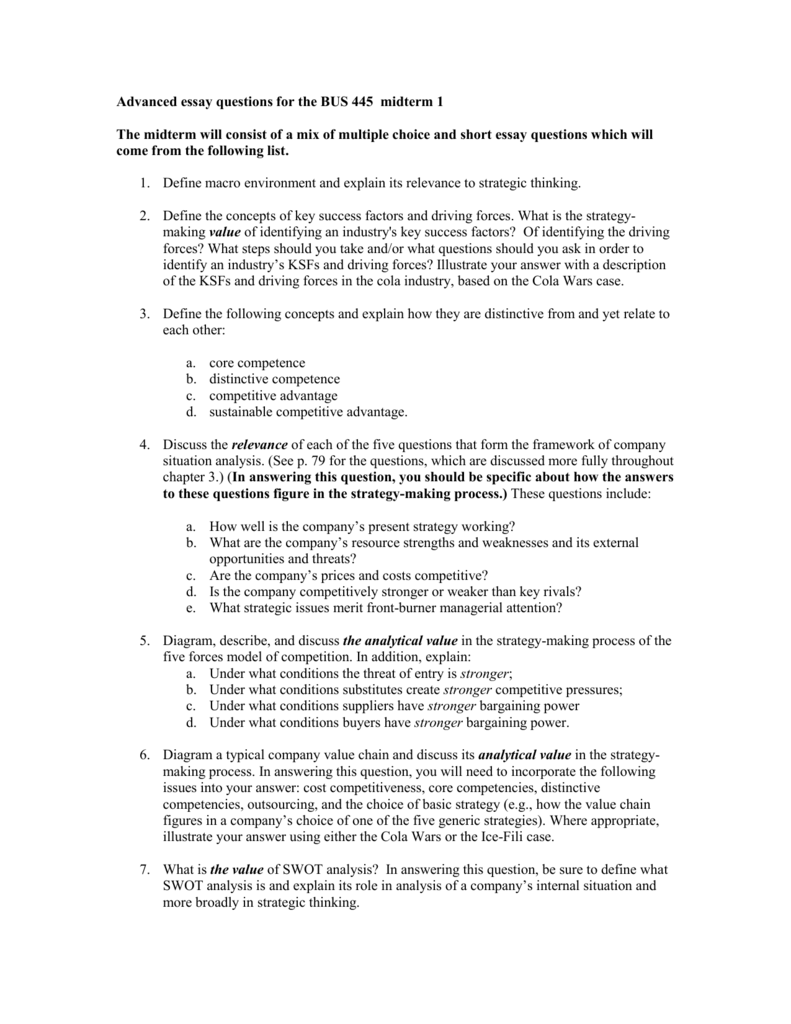 What Is Thesis Statement In Essay  Business Format Essay also Interesting Persuasive Essay Topics For High School Students Advanced Essay Questions For Review Before This Meeting Thesis Statement For Definition Essay