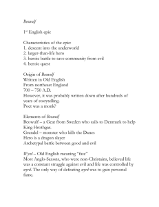 Beowulf - mathewsenglish
