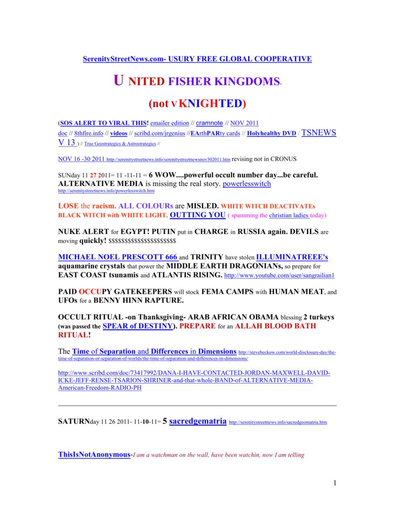 f6e43d0a06ae emailer edition - SerenityStreetNews.com