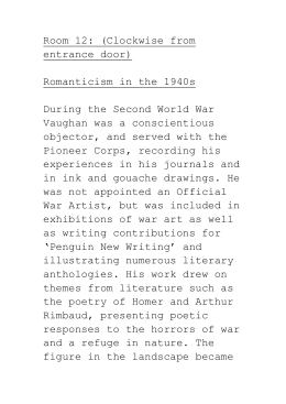 Room 12 - Romanticism in the 1940`s (Word)