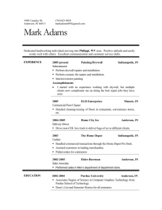 Professional Resume - Extras Support Staffing