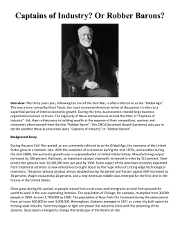 Who Were the Robber Barons? Essay Sample