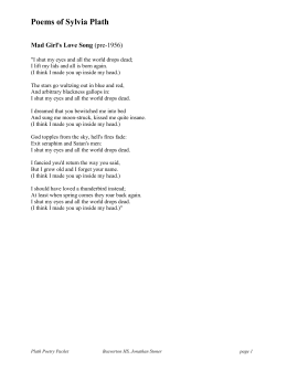 poems by plath doc huntingtonibenglish poems of sylvia plath doc
