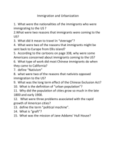 Immigration text