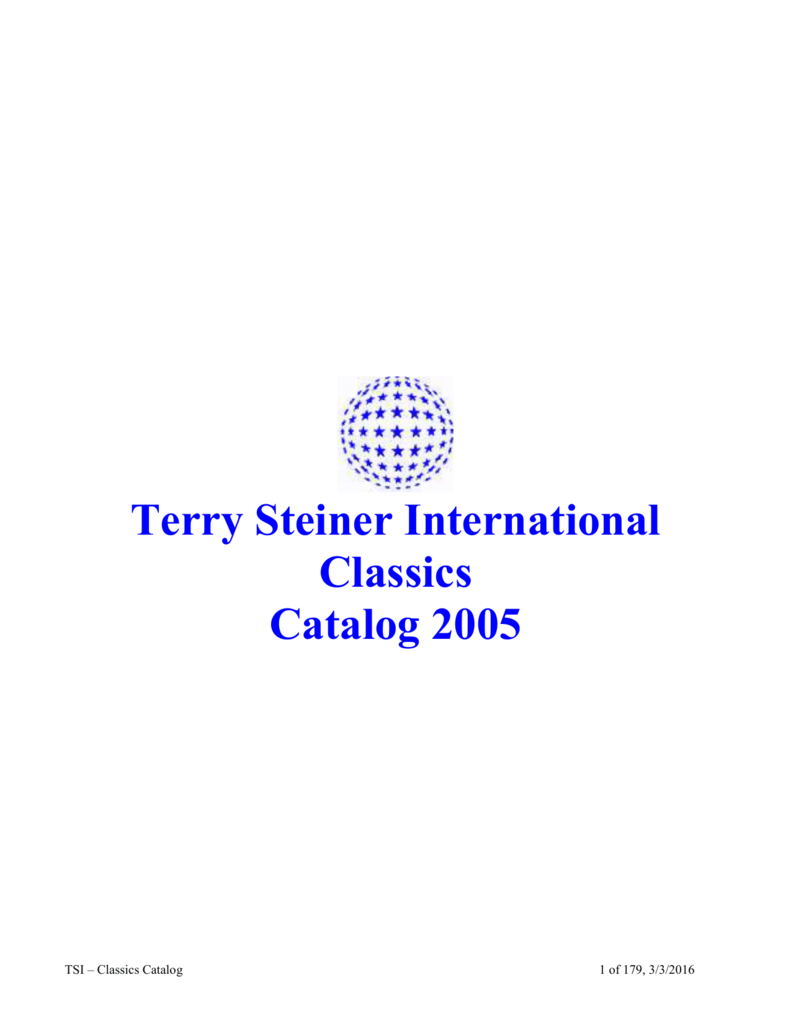 Terry Steiner International Inc