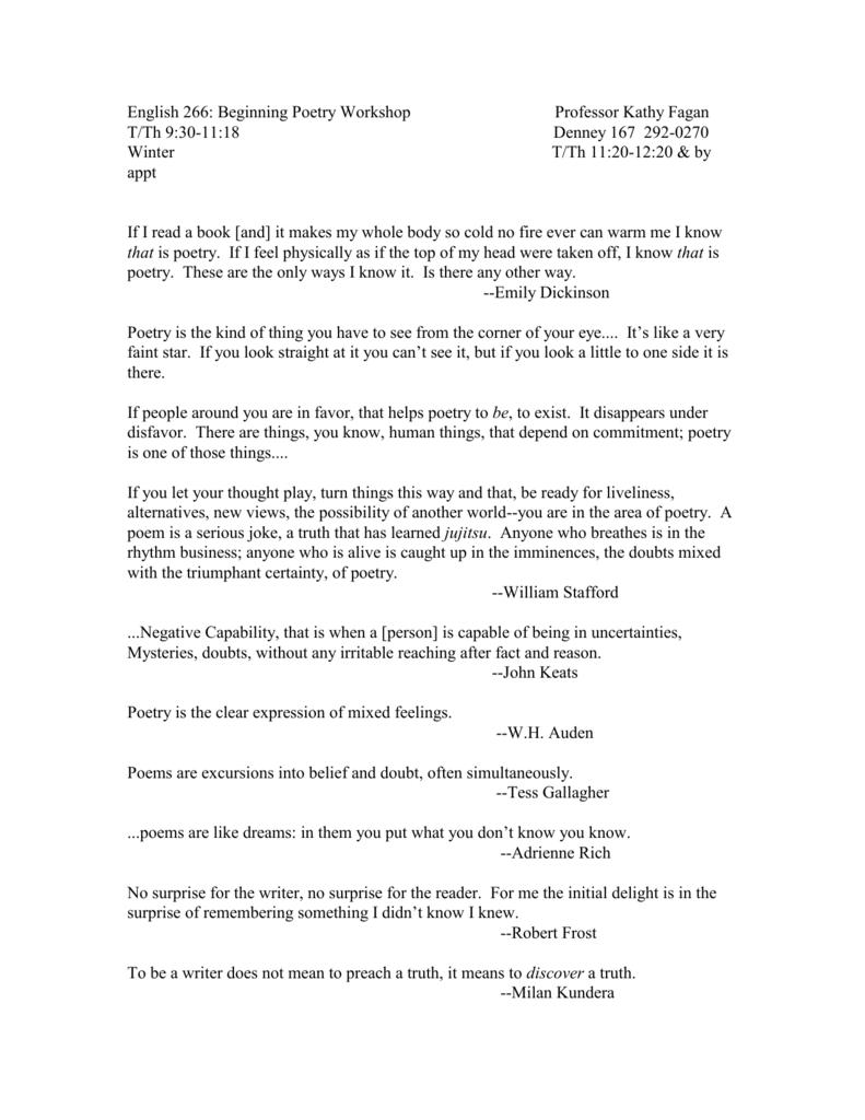 English 266 Syllabus DOC - The Ohio State University