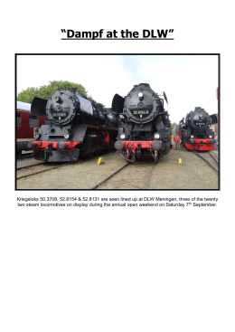 September 2013 - Germany - Neil`s Beer & Rail Website