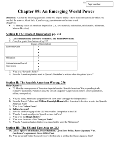 Introductory Worksheet to Chapter #28
