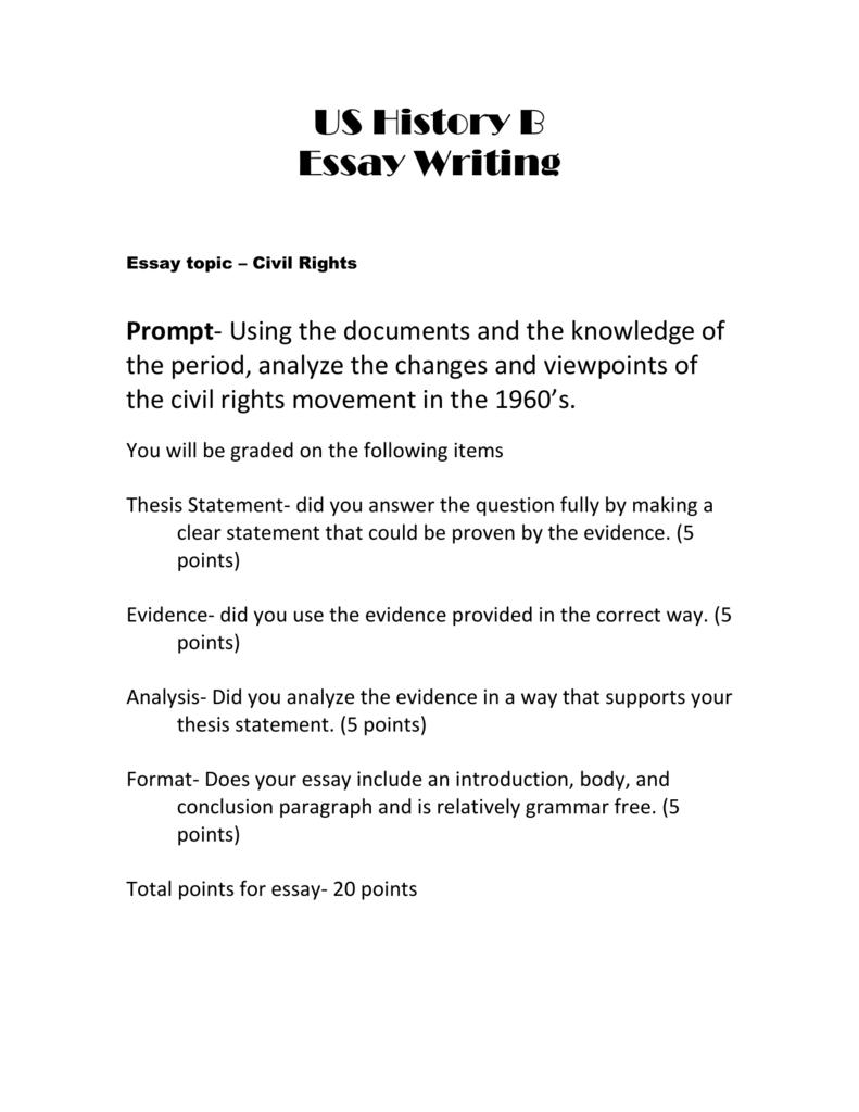 final essay  civil rightsdoc