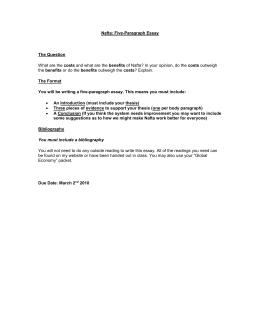commanding heights worksheet nafta five paragraph essay