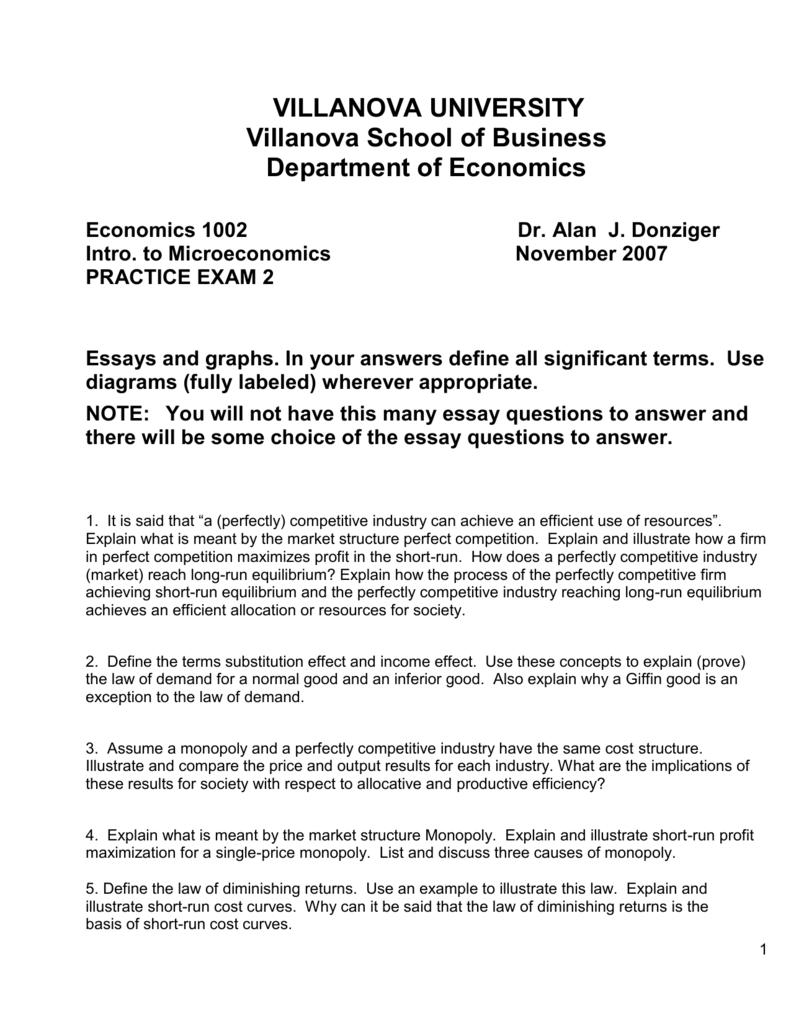 Villanova Essay Prompts   Mistyhamel Villanova Essay Practice Exam University The Why Us