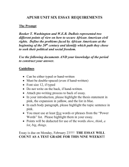 apush unit test essay Mr sutton's social studies home  this is our last unit before we before we  this essay will be graded using the leq apush essay rubric review sheet test.