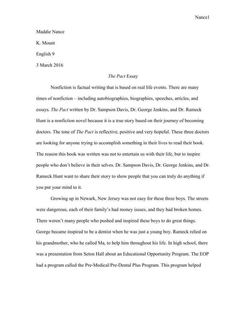 life is not easy essay