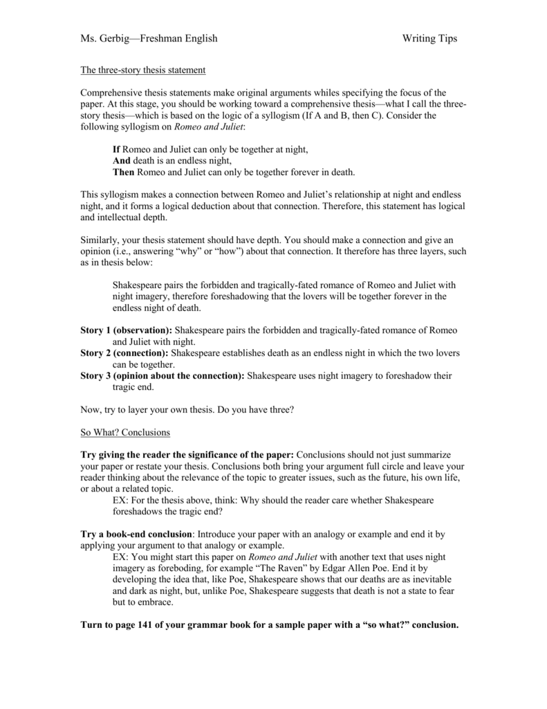 romeo and juliet tragic hero essay lesson plan