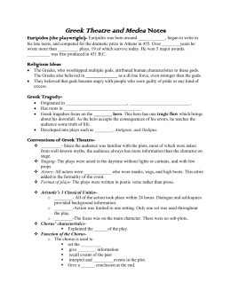 Feminism in Medea Essay Sample