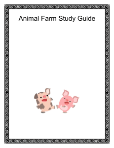 Study Guide for Animal Farm