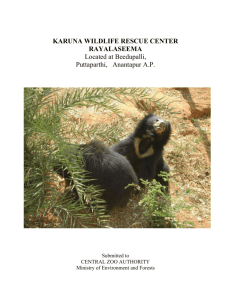 WildLife Master Plan - Karuna Society for Animals and Nature