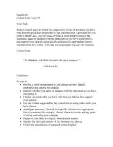 2009 common application essay prompts