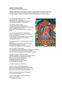 PRAISE TO VAJRAYOGINI The Goddess That Absorbs All Traumas